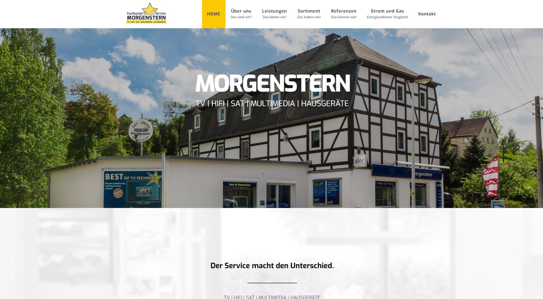 Webseite www.morgenstern-mohorn.de